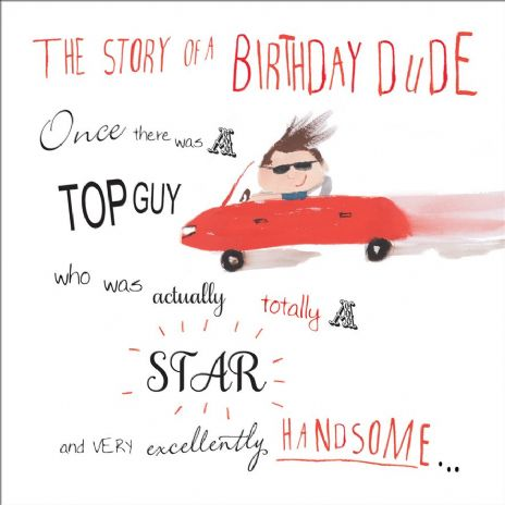Birthday Card For A Star